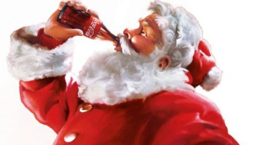 Coca Cola Babbo Natale.Perche Babbo Natale E Rosso L Operazione Marketing Di Coca Cola